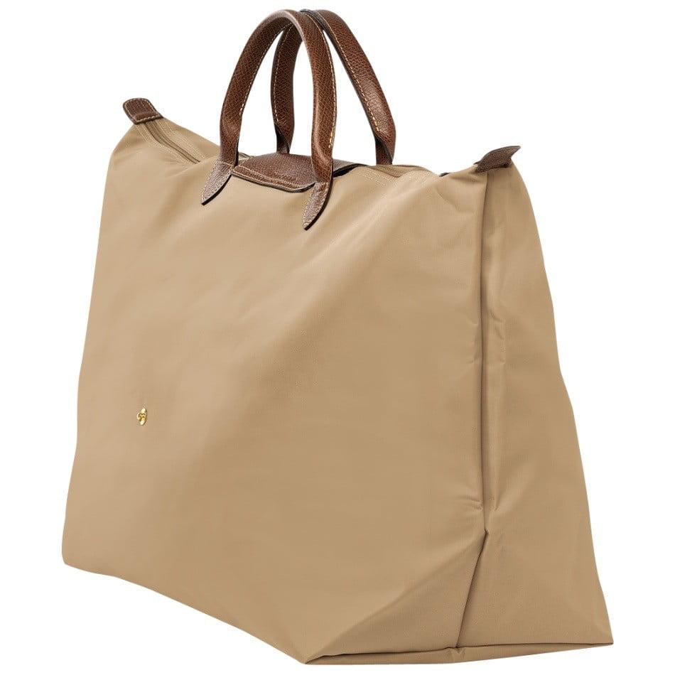 Longchamp Le Pl Xl Travel Bag-Beige