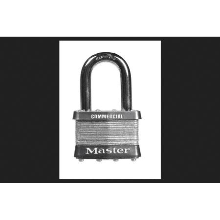 Master Lock 2 in. Keyed Alike 4-Pin Cylinder Laminated Steel Padlock ()