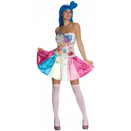 Katy Perry Candy Girl Adult Halloween - Selena Gomez Katy Perry Halloween