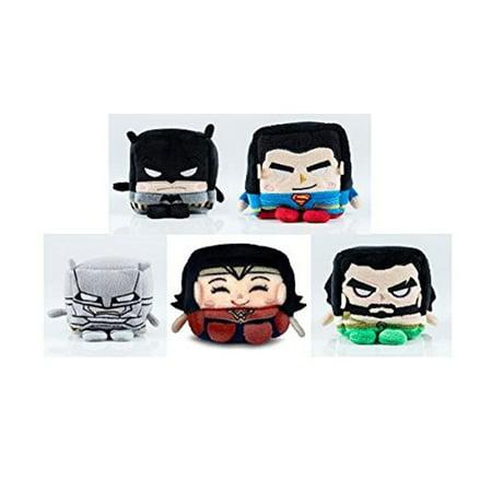 Kawaii Cubes: Batman v Superman Small Plush Figure Set 5-Pack](Kawaii Plush)