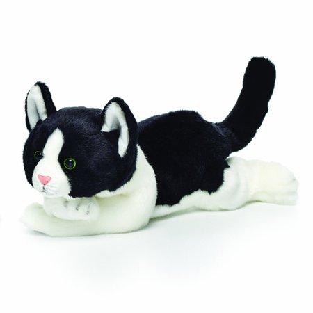 Nat And Jules Plush Toy Black And White Cat Large Walmart Com