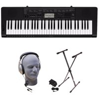 Casio CTK-3500 PPK 61-Key Premium Keyboard Pack with Stand, Headphones & Power Supply