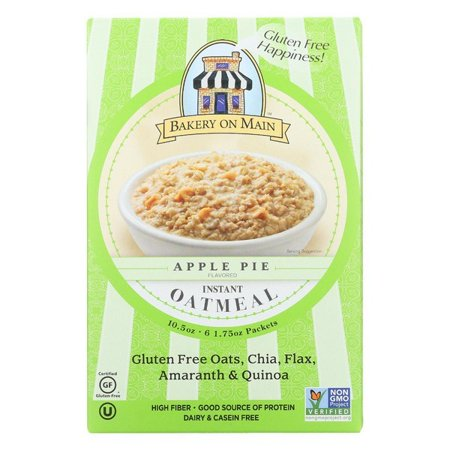 Bakery On Main Oatmeal Apple Pie - pack of 6 - 10.5 Oz. (Bakery On Main Oatmeal Apple Pie)