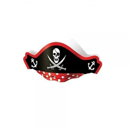 US Toy Pirate Captain Cardboard Party Hats Costume (2-Pack of - Cardboard Costumes