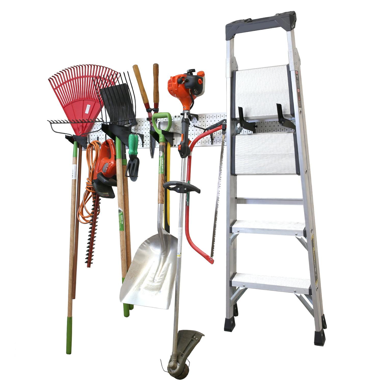Wall Control Garage Storage Rack Lawn & Garden Tool ...