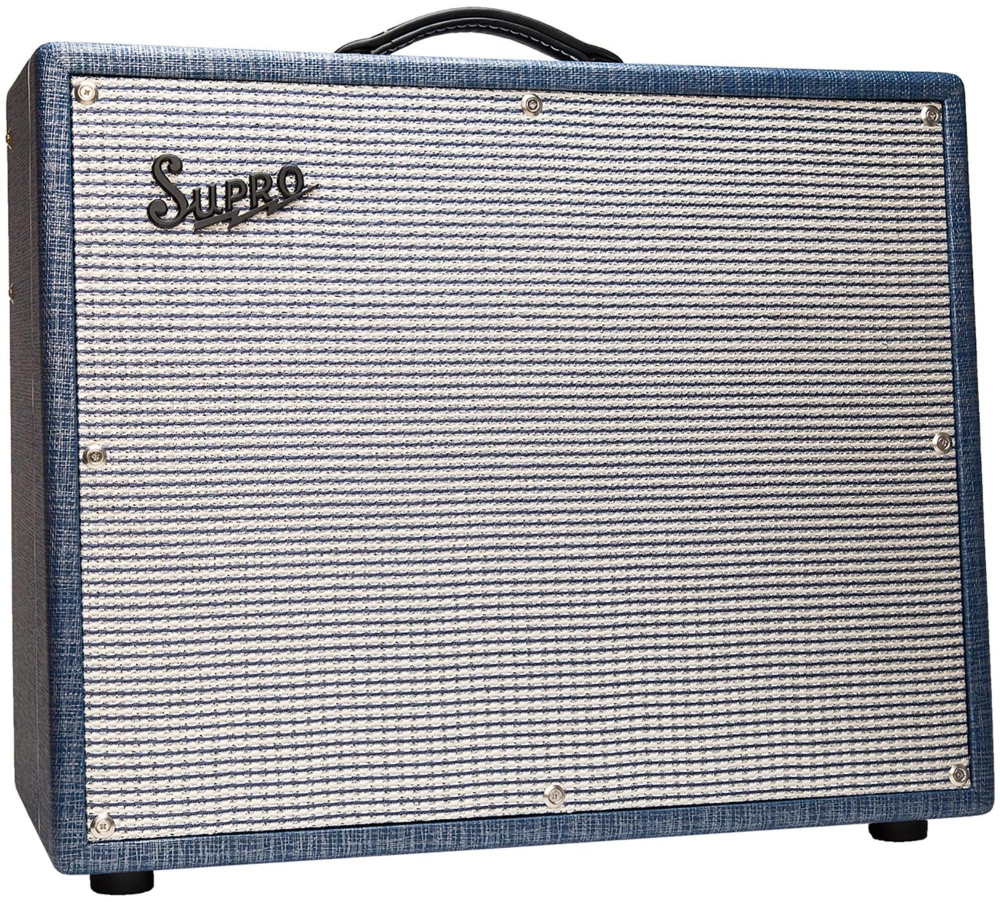 Supro 1675RT Rhythm Master 35 45 60W 1x15 Tube Guitar Combo Amp by Supro