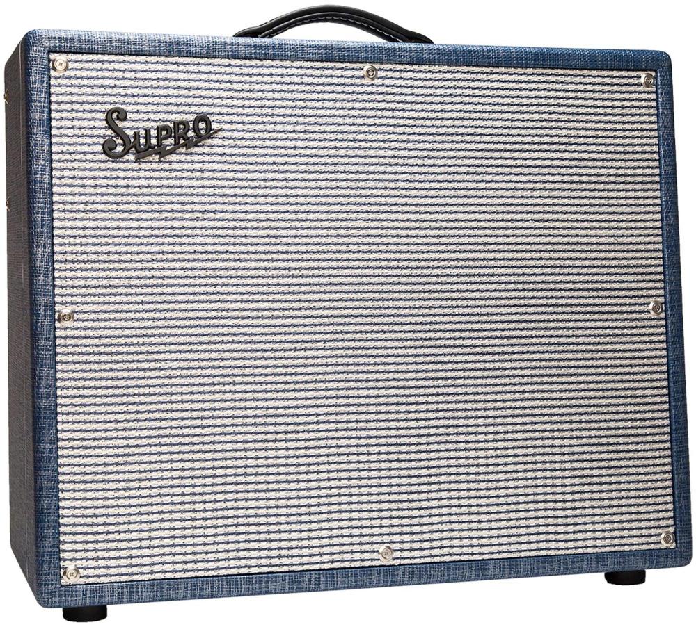 Supro 1675RT Rhythm Master 35/45/60W 1x15 Tube Guitar Combo Amp