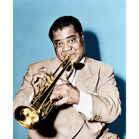 The Glenn Miller Story Louis Armstrong 1954 Photo Print - Glenn Miller Halloween
