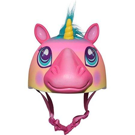 Raskullz Super Rainbow Corn Hair Helmet, Dark Pink - image 4 de 4