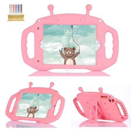 Capes For Boys (iPad Mini 1st Generation Gen 7.9 1 2 3 4 Model A1432 A1455 A1489 A1490 A1538 Case for Kids, Allytech Kids Shockproof Silicone Stand Heavy Duty Protective Boys Girls Cover)