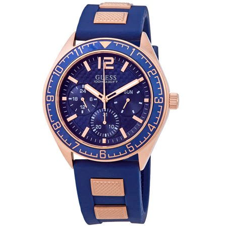 Guess Pacific Blue Dial Men's Watch W1167G3