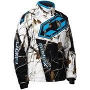 Castle X Racewear Launch Realtree G3/G4 Youth Snowmobile Jacket Realtree AP Snow/Reflex Blue