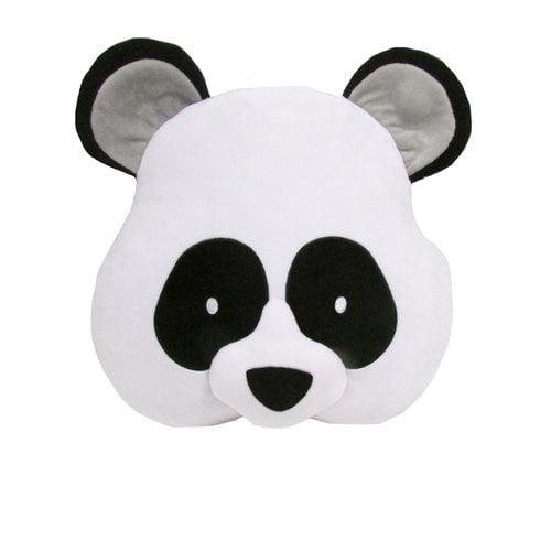 Zoomie Kids Kalia Panda Throw Pillow