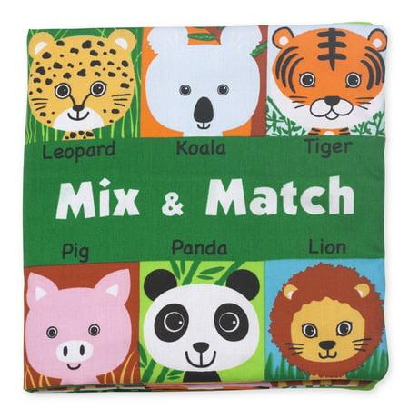 Melissa   Doug Soft Activity Book Mix   Match