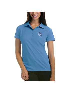 e4288449fe2 Product Image Tampa Bay Rays Antigua Women s Pique Xtra-Lite Polo - Light  Blue