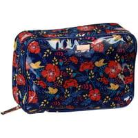Flower Pumped Up Petals Weekender Cosmetic Bag