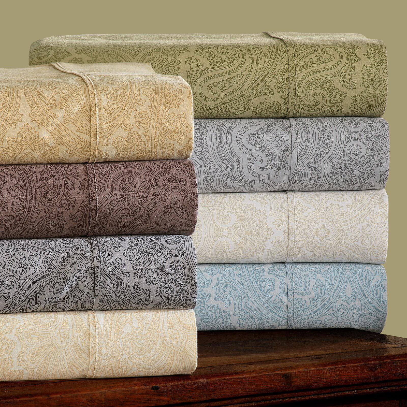 Superior 600 Thread Count Wrinkle Resistant Luxury Cotton Italian