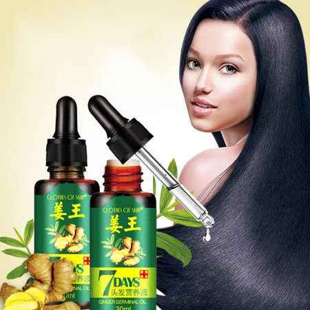 Hair Loss Treatment Ginger Oil, Hair Growth Serum For Thicker Healthier Hair Care For Men And