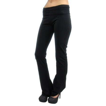 Vivian's Fashions Yoga Pants - Extra Long (Junior and Junior Plus Sizes) for $<!---->