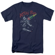Astro Pop Space Joust Mens Short Sleeve Shirt