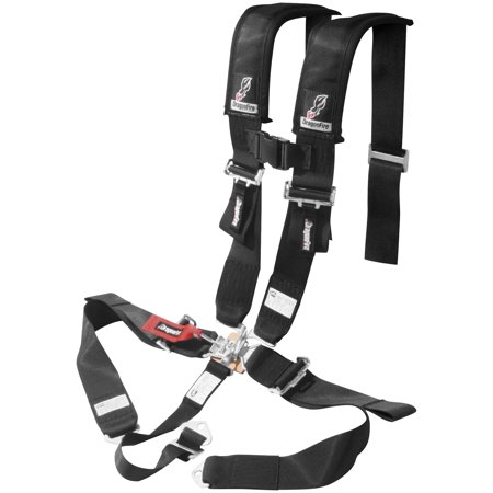 - Dragonfire Racing 14-0037 5pt. 3in. SFI Approved Racing Harness - Black
