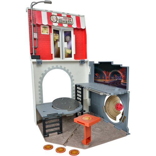 Teenage Mutant Ninja Turtles Anchovy Alley Pop-Up Pizza Play Set
