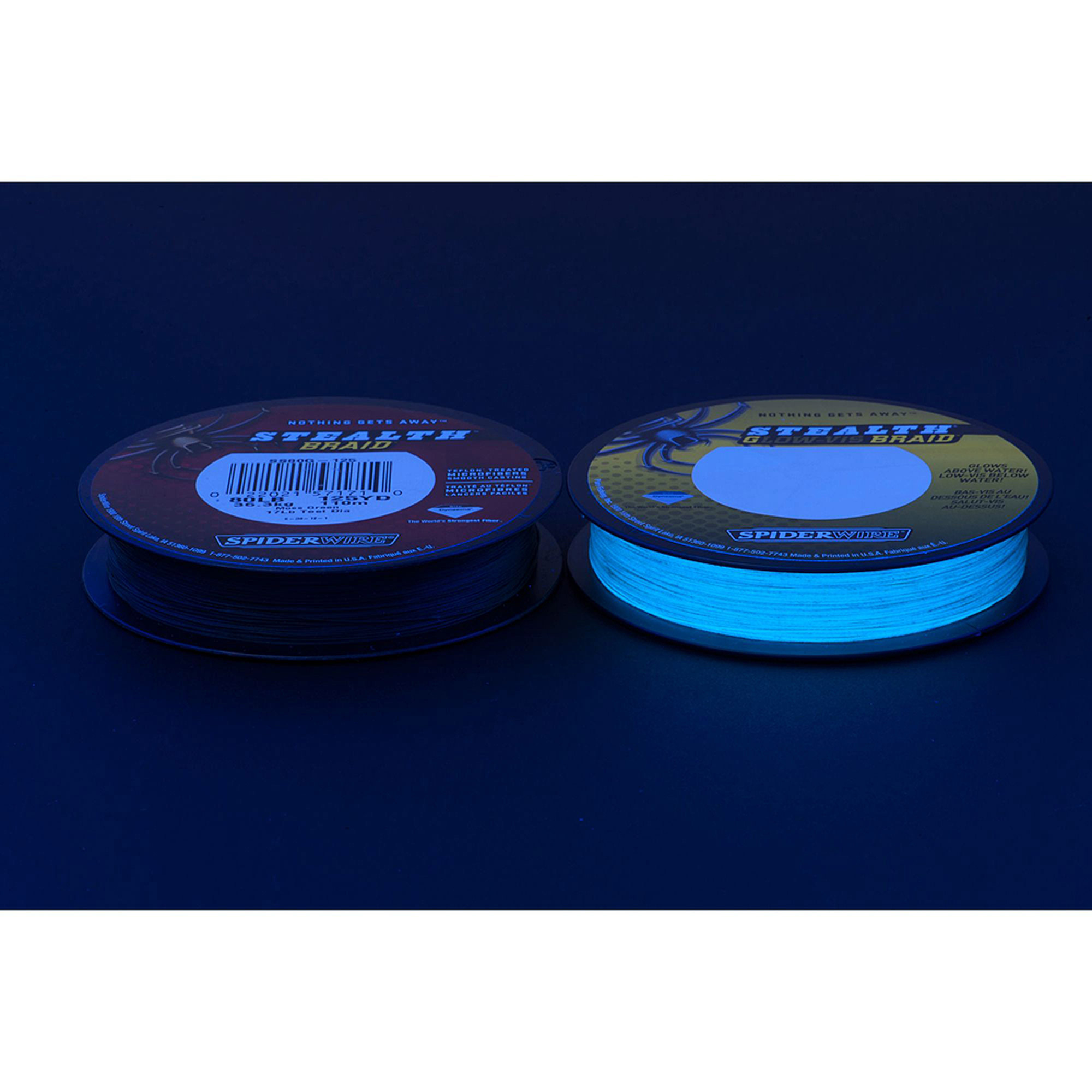 Fluorescent fishing line for Fluorescent fishing line