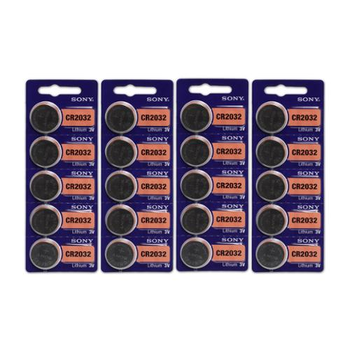 20 Count Sony CR2032 High Energy Button Cell Lithium Watch 3V Battery