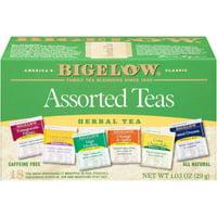 (3 Boxes) Bigelow Assorted Herbal Teas, Tea Bags, 18 Ct