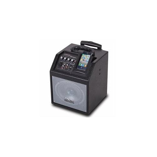 FIRST AUDIO MANUFACTURING ICUBE55 Wireless PA System for iPod-iPhone