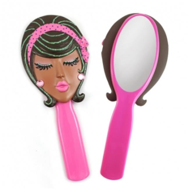 Jacki Design JGS22539PK Angel Style Mirror, Pink