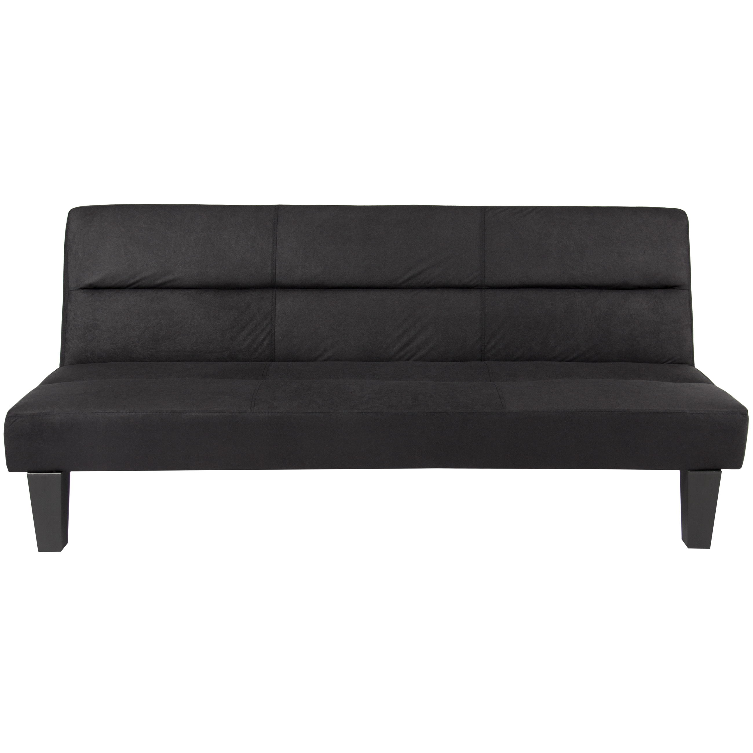 Click here to buy Best Choice Products Microfiber Futon Folding Couch Sofa (Black) by Best Choice Products.