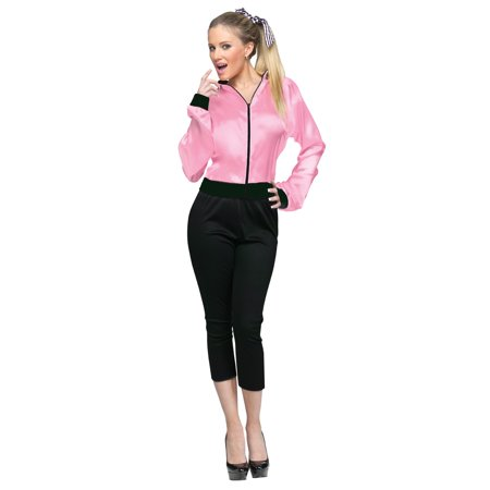 50's Ladies Jacket Adult](Halloween Costumes 50's Girl)