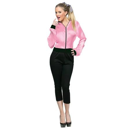 50's Ladies Jacket Adult - 50's Halloween Ideas