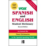 Vox Dictionaries: Vox Spanish and English Student Dictionary Pb, 2nd Edition (Paperback)