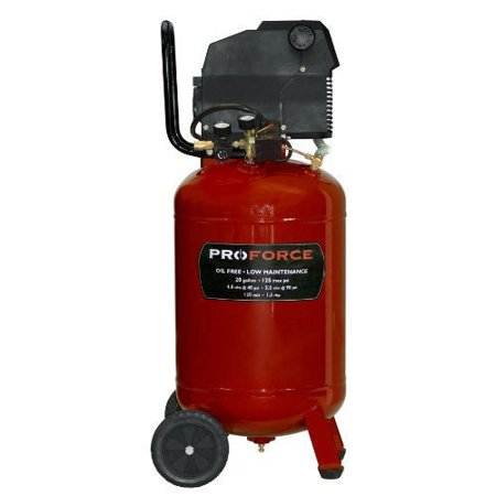 ProForce VLF1582019 20 Gallon Vertical Wheeled Air