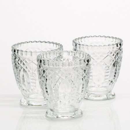 - Richland Glass Textured Votive Holder Set of 36