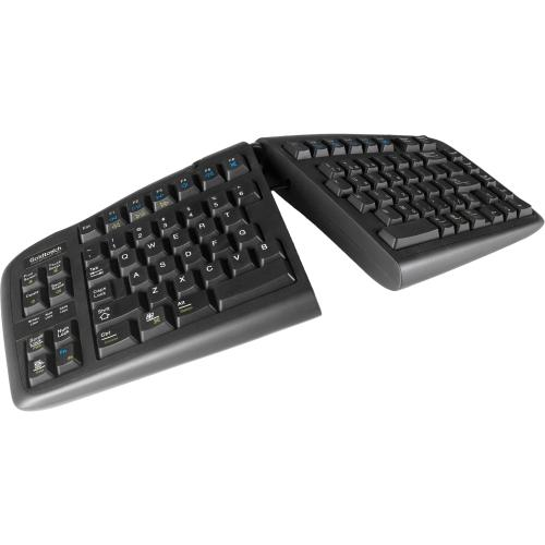 Goldtouch GTU-0088 - Goldtouch USB V2 Keyboard Black For ...