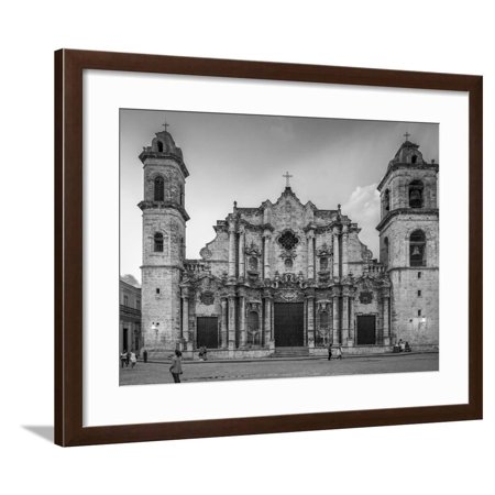 Cathedral, Virgin Mary, Immaculate Conception, Cuba Framed Print Wall Art By James White