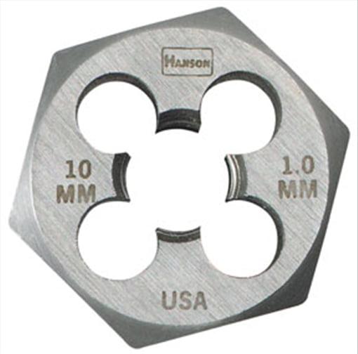 18mm - 1.5mm Hexagon Metric Die, Bulk