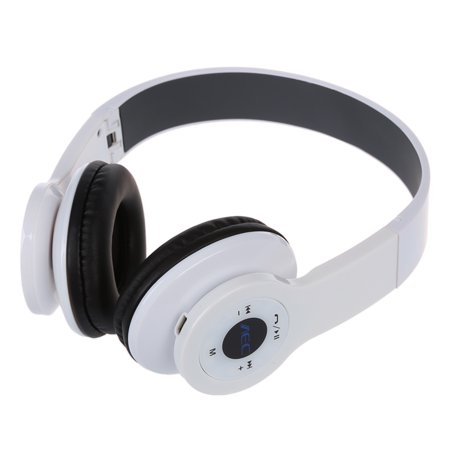 AEC BQ-605 Wireless Headset Bluetooth 2.1 + EDR Multifunction Headphones  with FM SD for Android Smartphone Tablet PC White iPhone iPad - Walmart.com ca567ecca6