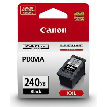 T644 Extra High Yield Return (Canon PG-240XXL Black Ink Cartridge (5204B001), Extra High Yield )