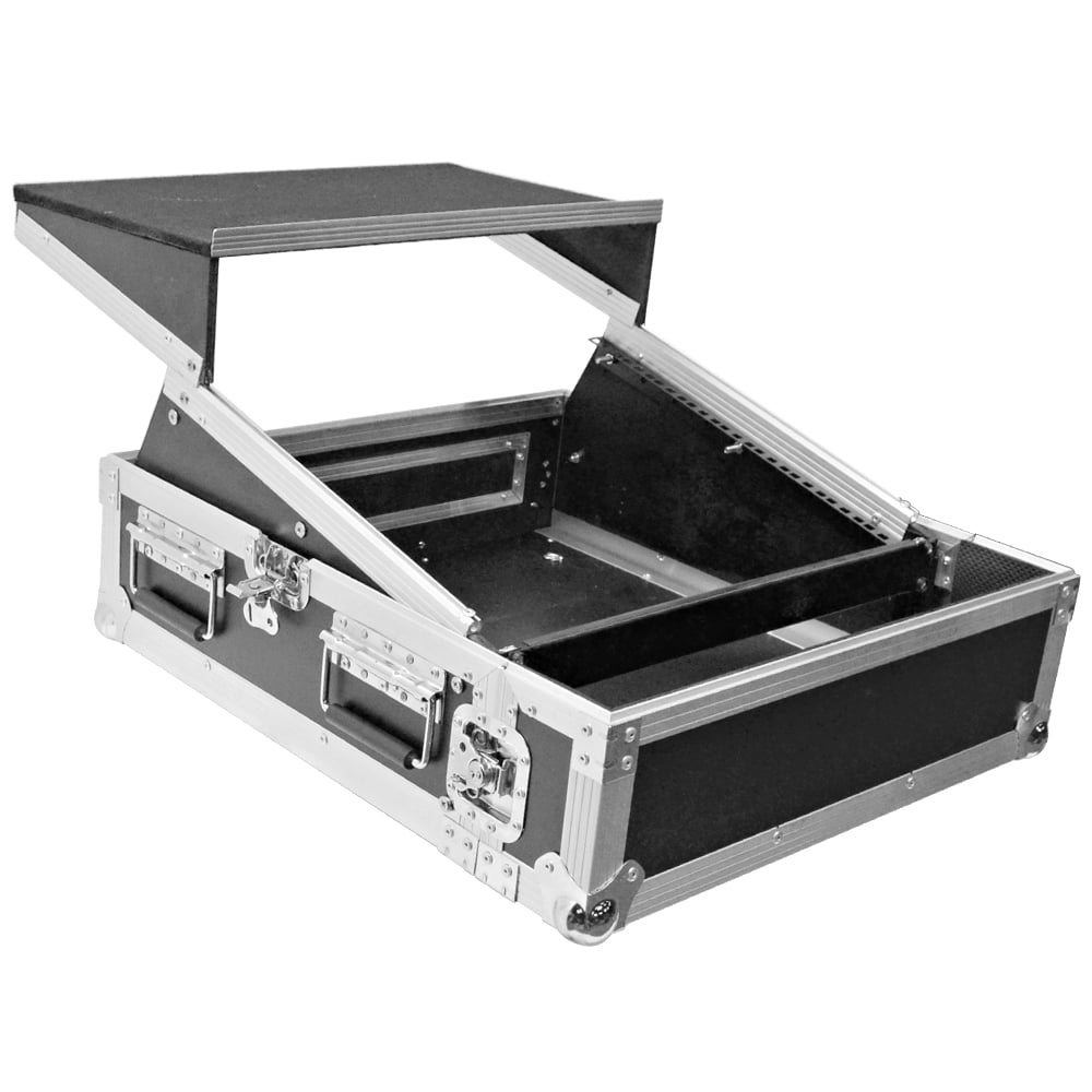 Seismic Audio Set of 8 Large 2 Inch Chrome Rack Case Clamp for PA DJ Rack Road ATA Case SARHW30
