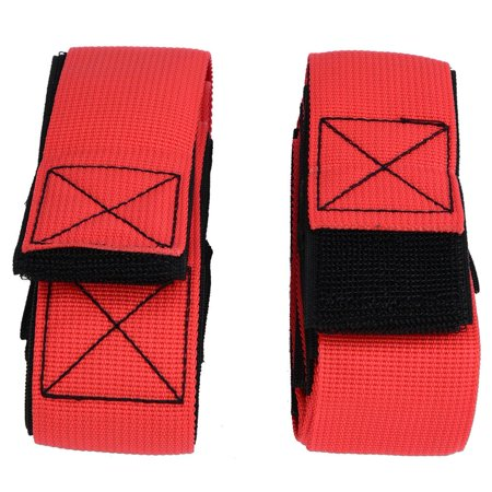 Spptty 2PCS 6 People Giants Footsteps Trams Fastening Tape Outdoor Team Games Training Equipment, Footsteps Trams - image 4 of 8
