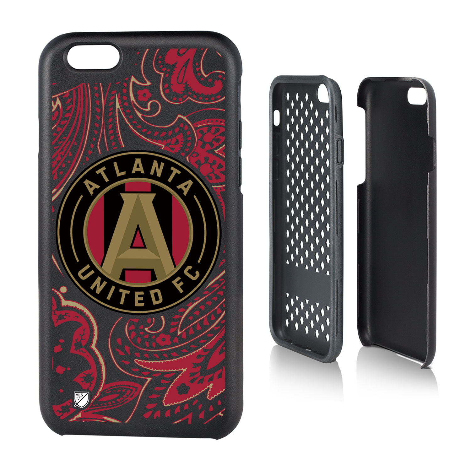 Atlanta United FC ATLUTD Paisley Rugged Case for iPhone 6 / 6S