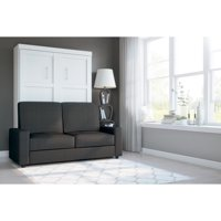 Bestar Pur 2-Piece Wall Bed and Sofa Set in Multiple Colors and Sizes