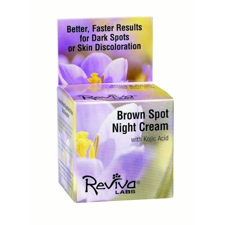 Reviva Labs Brown Spot Night Cream, 1 Oz
