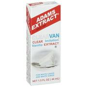 Adams Extract: Clearvan Imitation Vanilla Extract, 1.5 Fl Oz