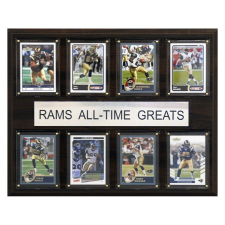 C&I Collectables NFL 12x15 St. Louis Rams All-Time Greats Plaque ()