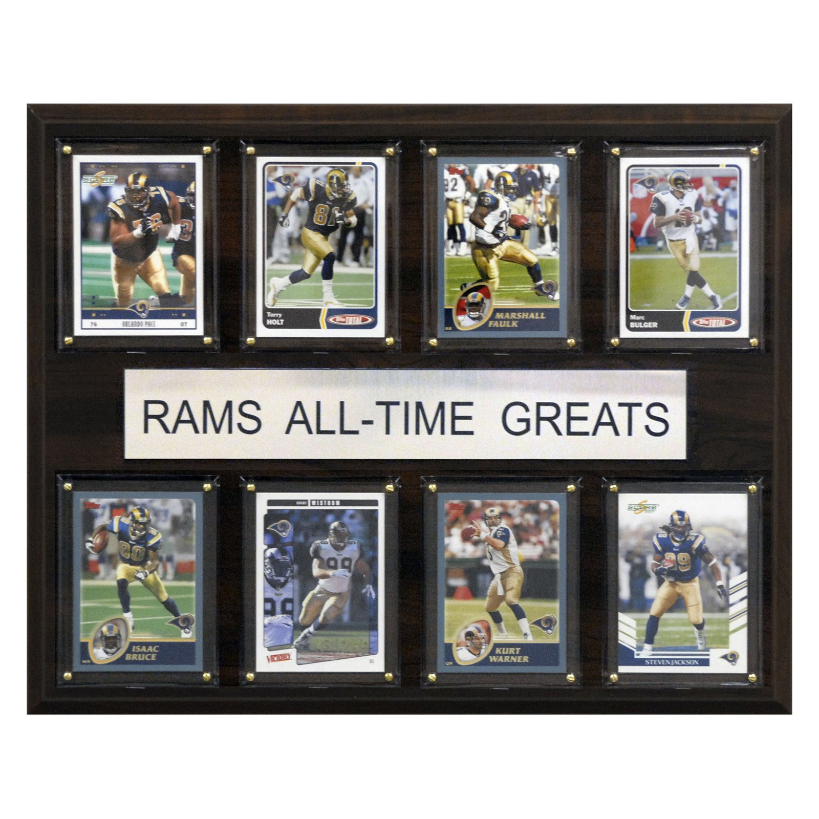 C&I Collectables NFL 12x15 St. Louis Rams All-Time Greats Plaque
